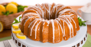 7-Up Bundt Cake with Vanilla Frosting