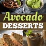 Avocado Desserts