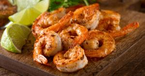 Sauteed Shrimp with Cajun Seasonings