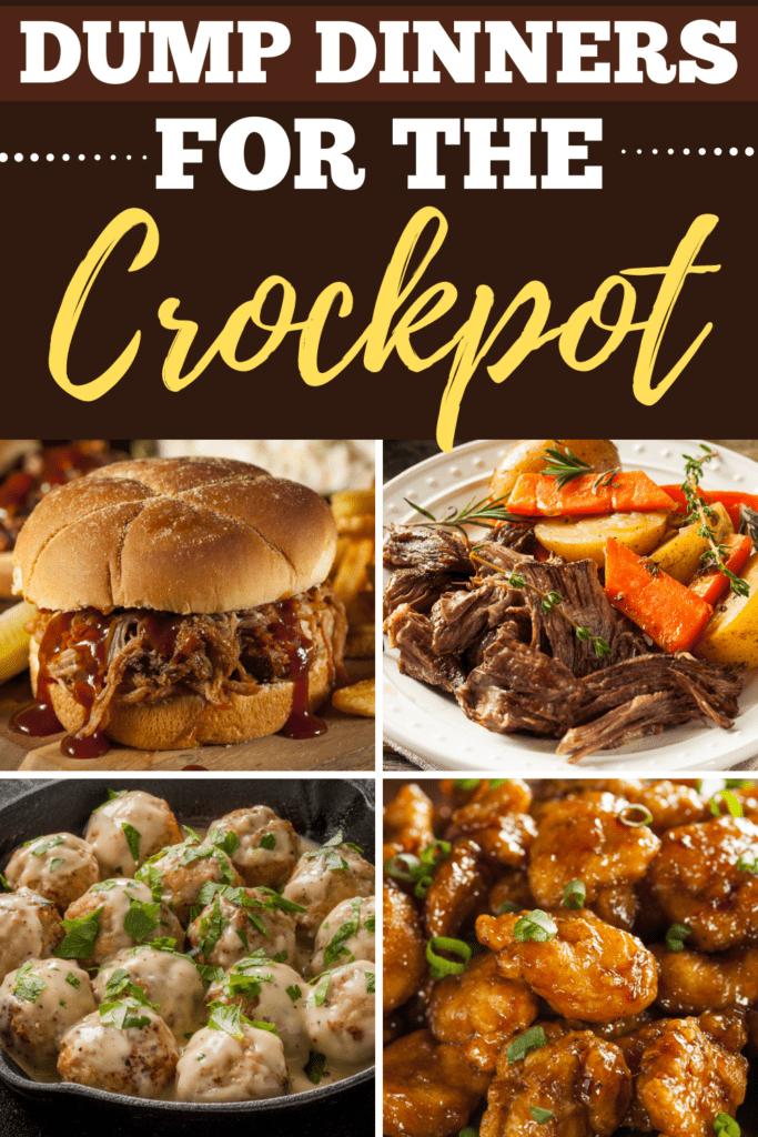 Dump Dinners For the Crockpot