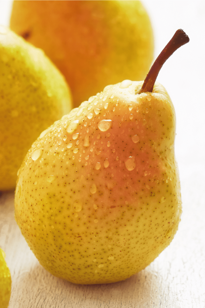European Pear Fruit