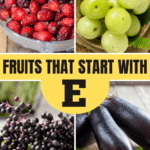 Fruits That Start with E