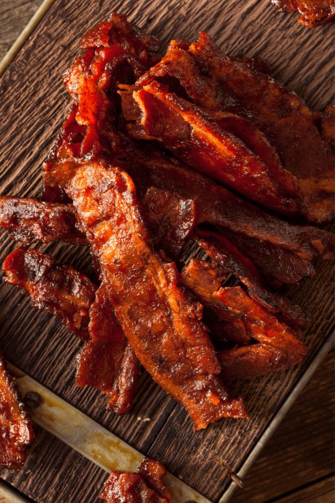 Homemade Bacon Strips