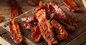Homemade Dried Bacon