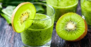 Homemade Kiwi Smoothie