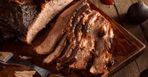 Homemade Smoked BBQ Beef Brisket