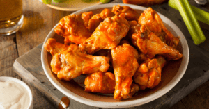 Homemade Spicy Buffalo Chicken Wings