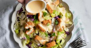 Homemade Oriental Chicken Salad