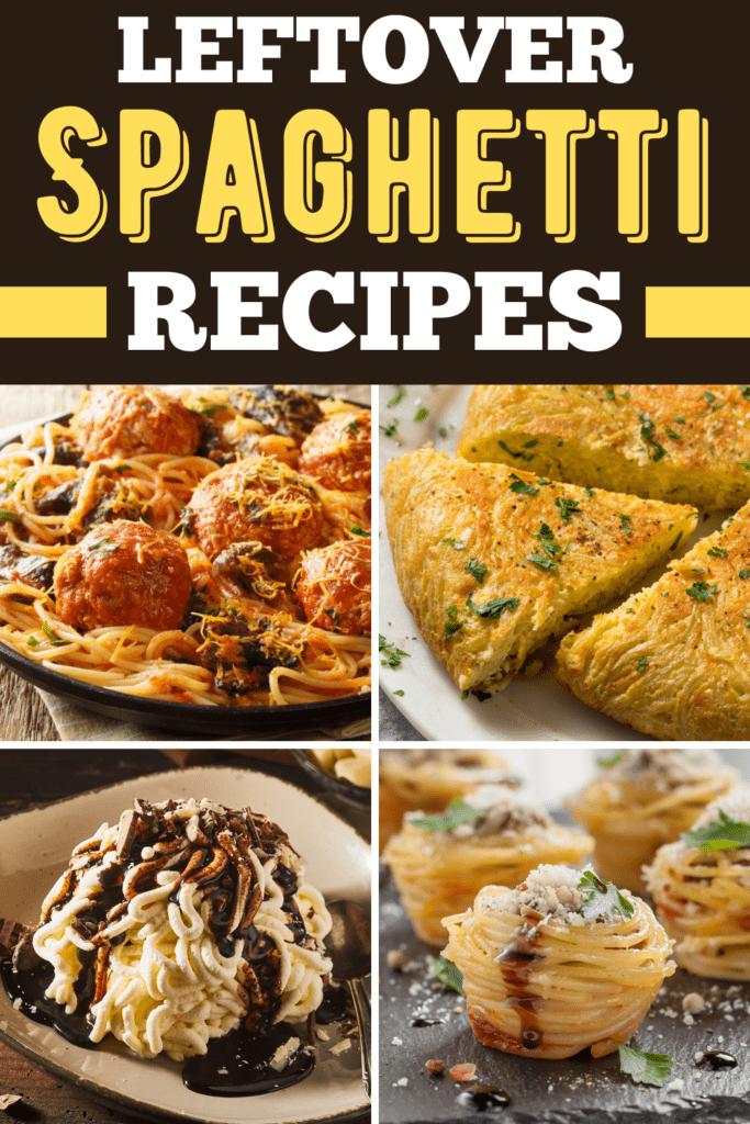 Leftover Spaghetti Recipes