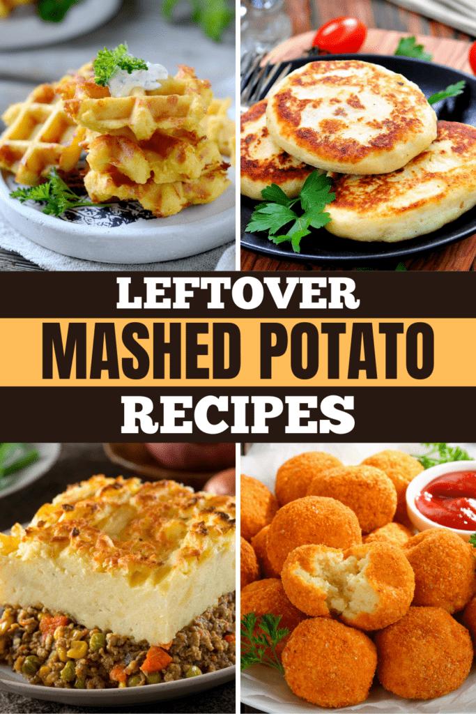 Leftover Mashed Potato Recipes