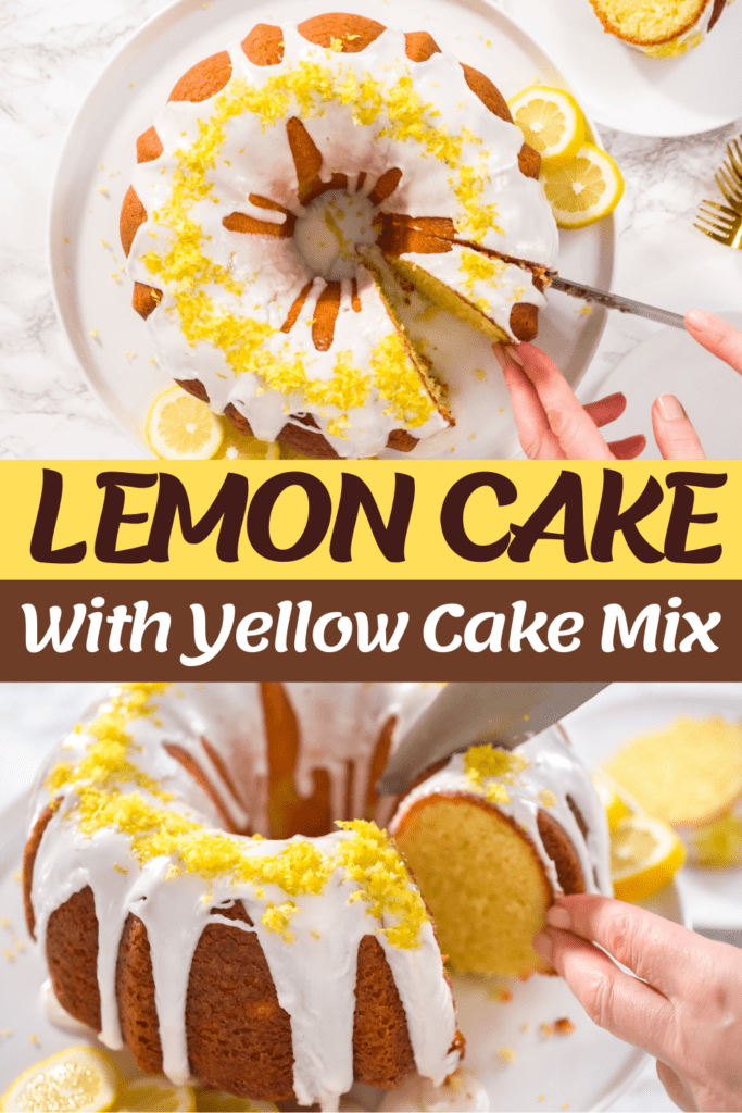 Lemon Cake With Yellow Cake Mix