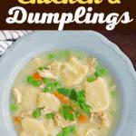Paula Deen Chicken and Dumplings