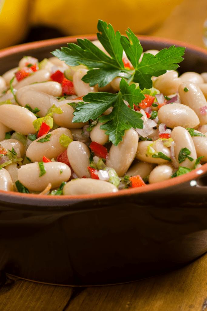 Homemade White Cannellini Salad