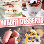 Yogurt Desserts