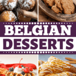 Belgian Desserts