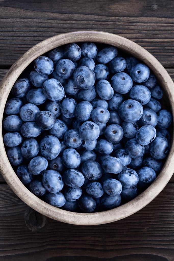 Bowl of Huckleberries