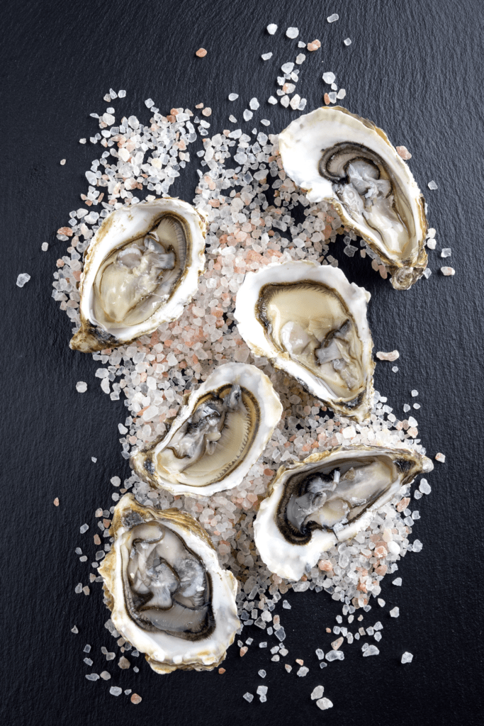 British Huitre or Oysters