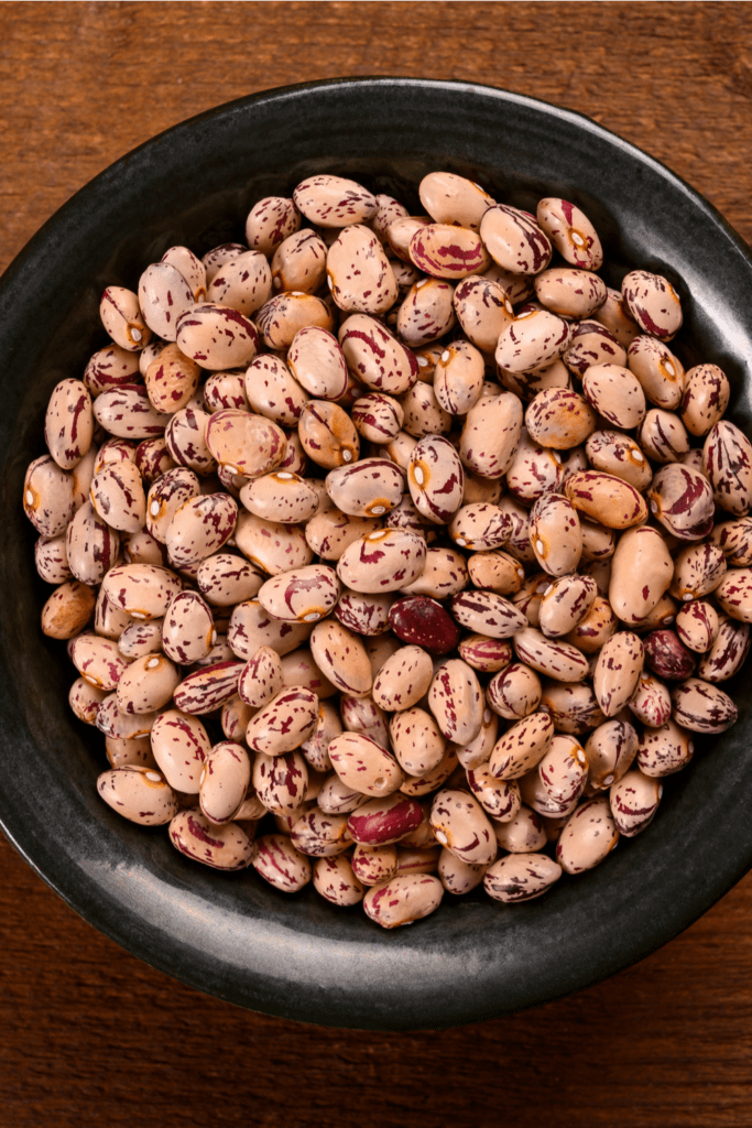 Colored Haricot Beans