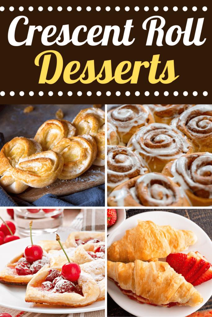 Crescent Roll Desserts