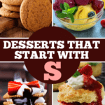 Desserts That Start with S