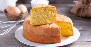 Egg Yolk Sponge Cake