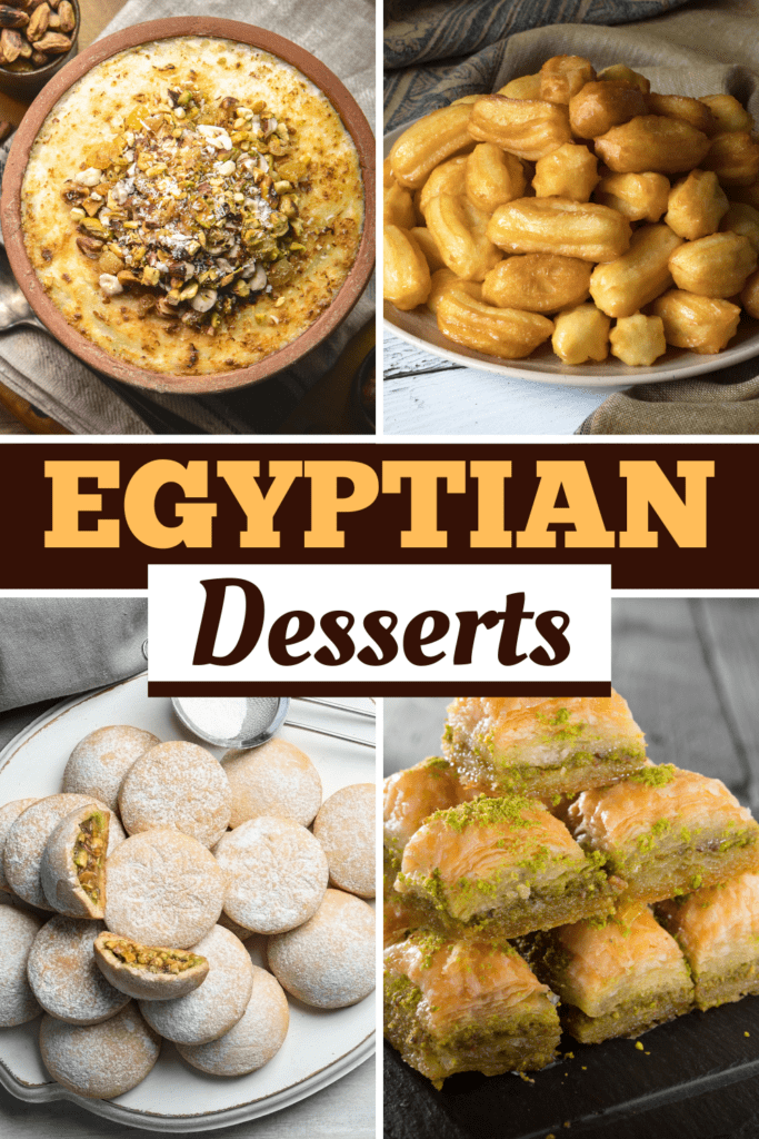 Egyptian Desserts