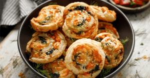 Finger Food Puff Pastry Pinwheels