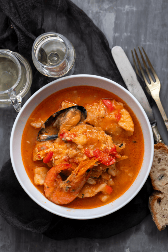 Portuguese Fish and Seafood Stew