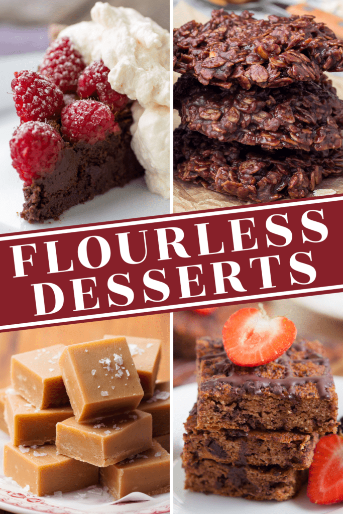Flourless Desserts
