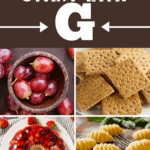 Foods That Start With G