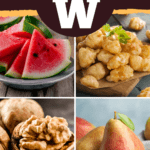 Foods That Start with W