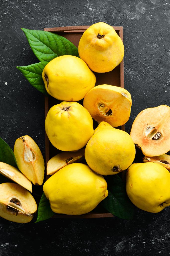 Fresh Yellow Quince