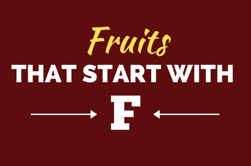 15 Fruits that Start with F
