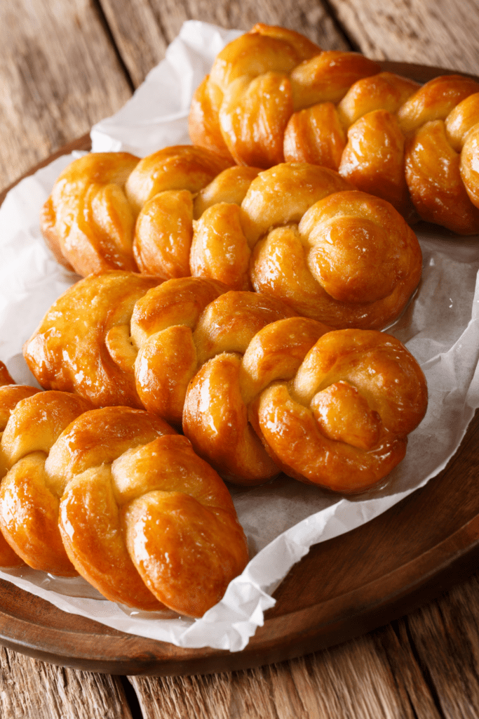 Glazed Golden Donuts or Koeksisters
