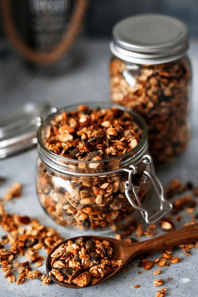 Granolas in a Jar