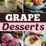 Grape Desserts
