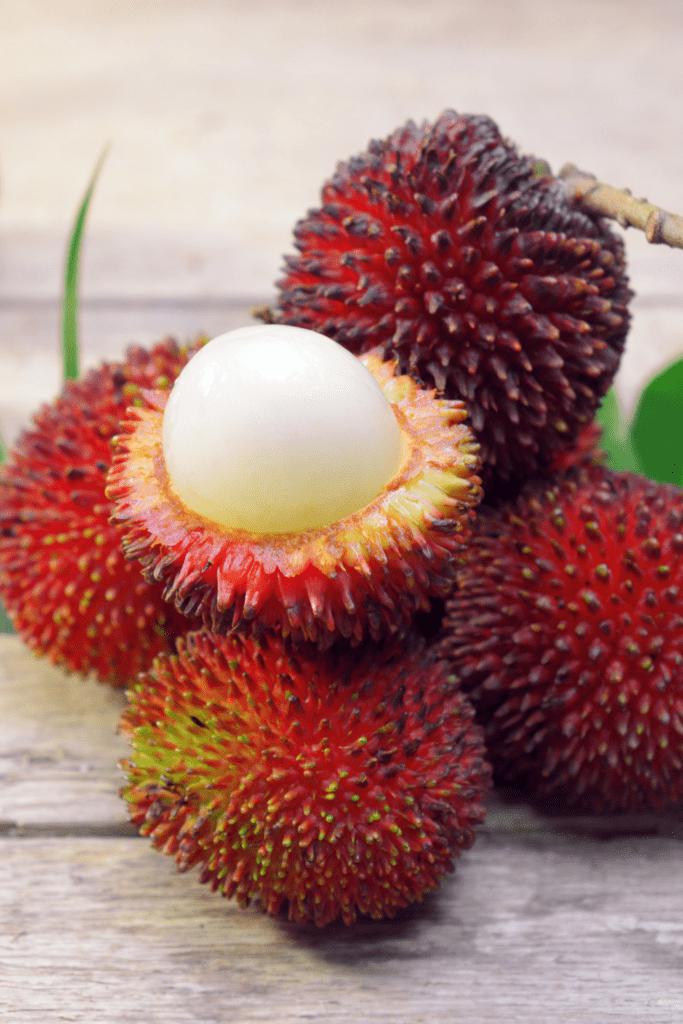 Hairless Rambutan