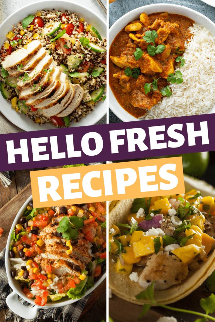 Hello Fresh Recipes