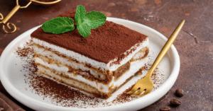Italian Tiramisu with Mint and Chocolate