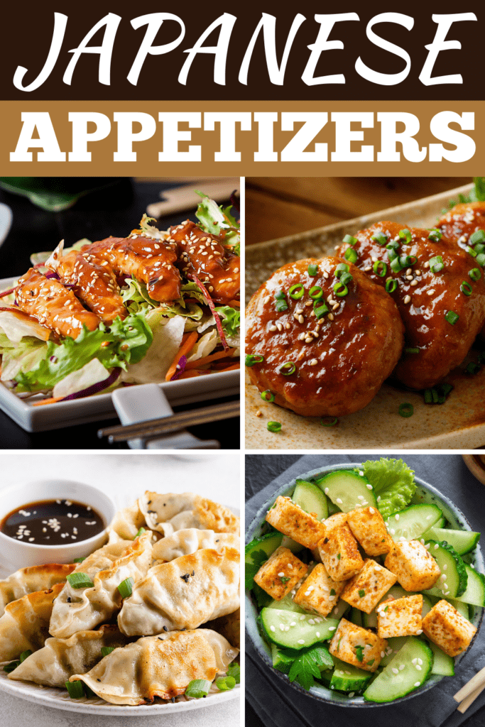 Japanese Appetizers