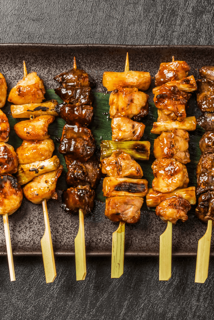 Japanese Chicken Barbecue