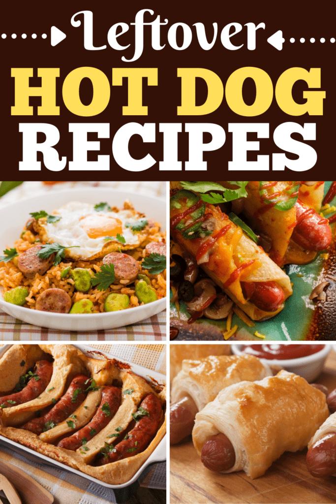 Leftover Hot Dog Recipes