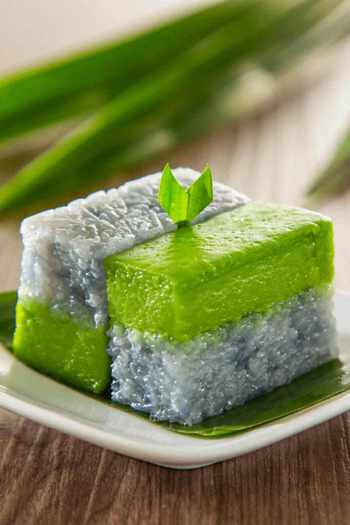 Malaysian Coconut and Rice Cake