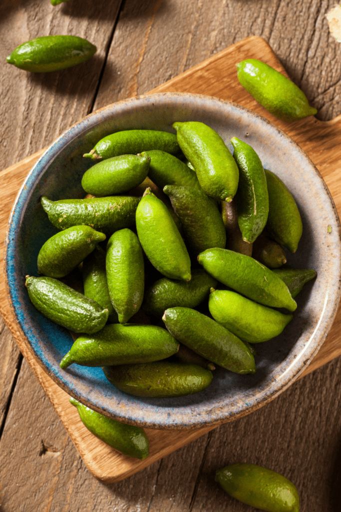 Organic Green Finger Limes