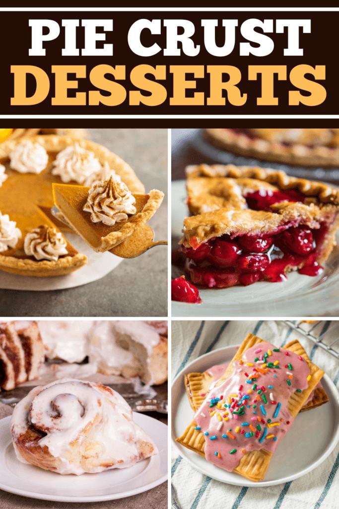 Pie Crust Desserts