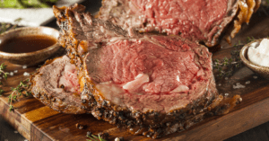 Roasted Prime Rib with Herbs and Spices