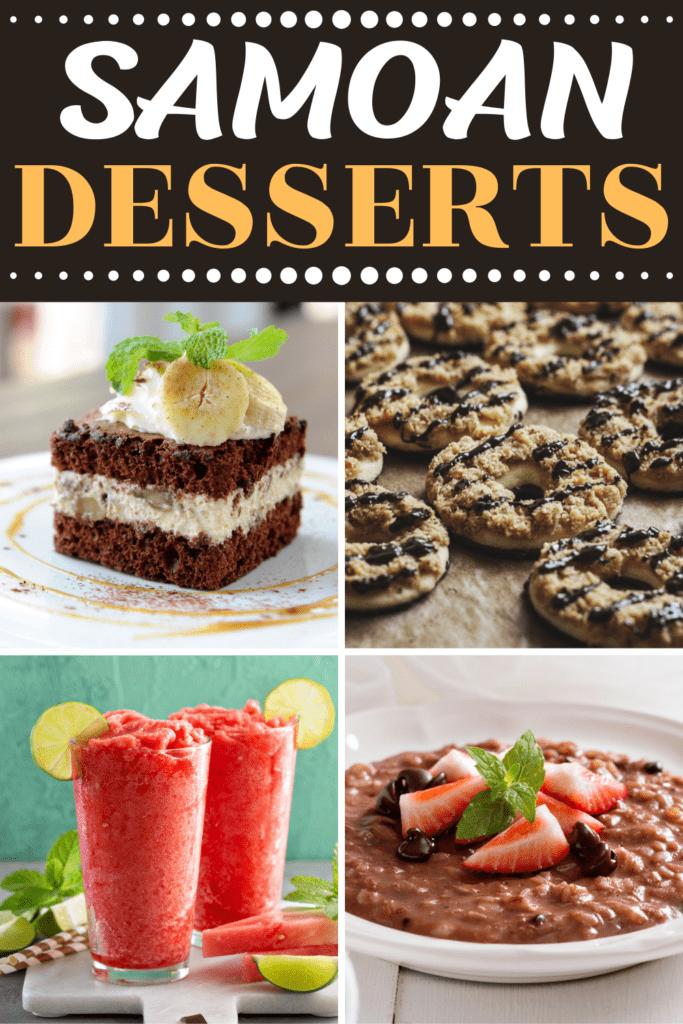 Samoan Desserts