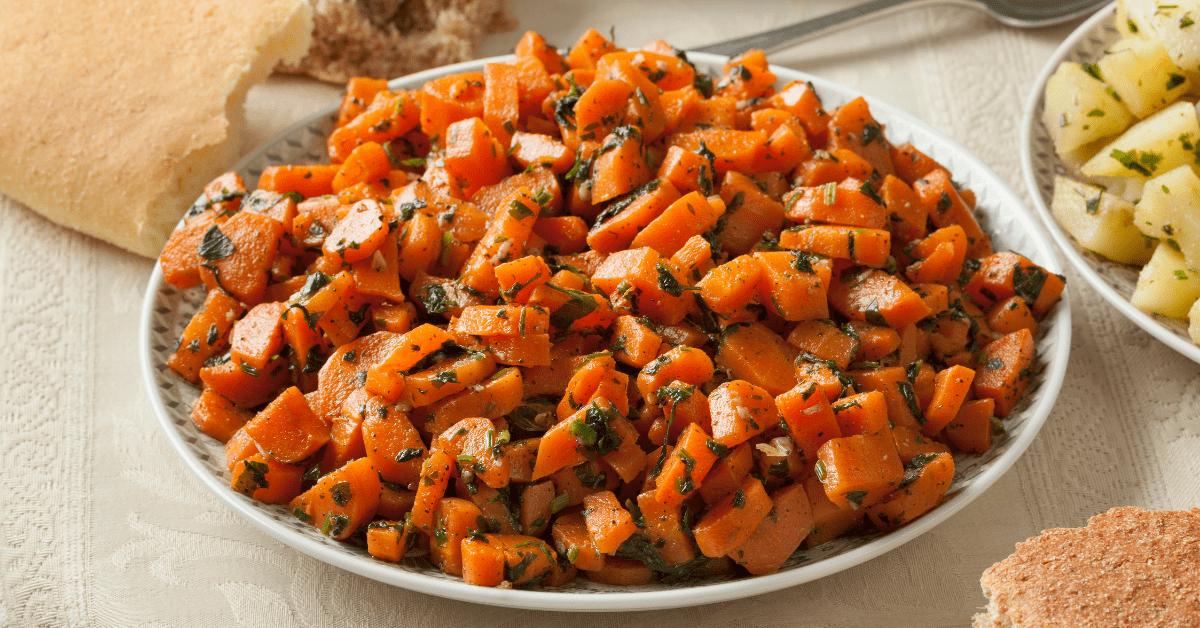 Traditional Moroccan Carrot Salad