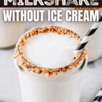Vanilla Milkshake Without Ice Cream