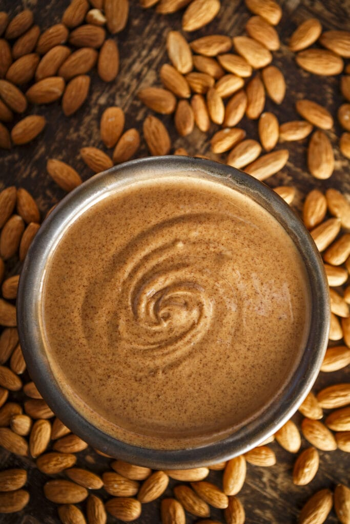 Almond Butter and Almond Nuts